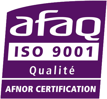 Certification AFAQ ISO 9001 : 2008